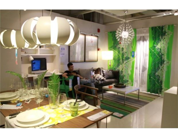宜家家居深圳商场二楼展间-IKEA宜家发布2014年 家居指南 主题陪伴图片