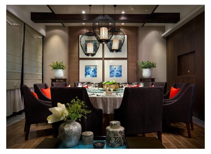 独具韵味中式餐饮空间设计最炫的民族风