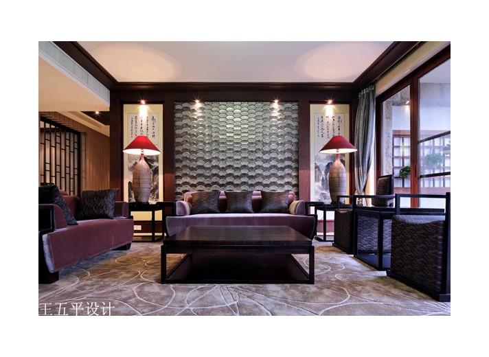 深圳集信名城豪宅设计----新中式魅惑图片