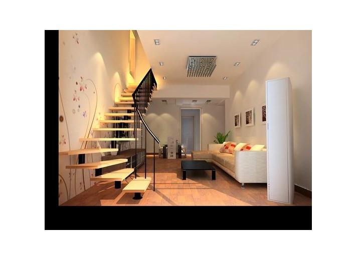 方 按照简装不带柜子的   60平米小复式楼装修效果图   60平