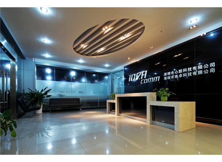 深圳智能公司高科技展厅设计